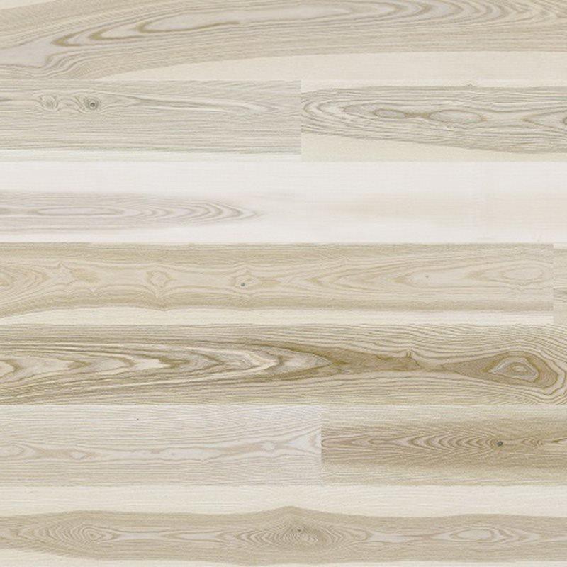 Barlinek Saarni 1-sauvainen Valkoinen lakattu parketin näytepala