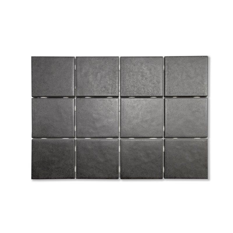 Palma Musta 10x10 lattialaatta